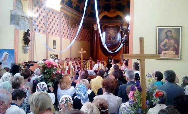 Te Deum laudamus w Okopach św. Trójcy