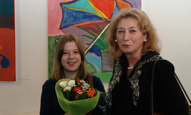 Kolorowy świat Anny Sawickiej