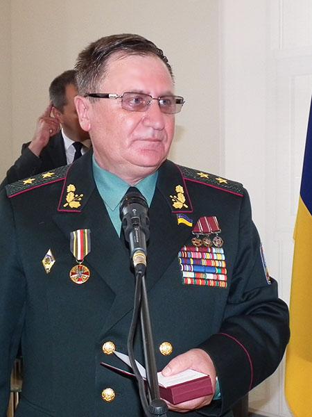 Gen. Paweł Tkaczuk, kawaler Złotego Medali Wojska Polskiego (Fot. Krzysztof Szymański)