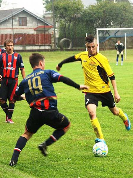 Sparing Pogoni z Czarnovią Czarne (Fot. pogon.lwow.net)