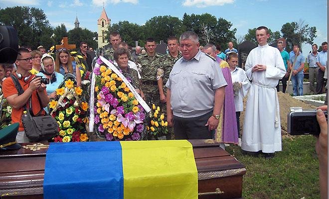 Żałoba na Hreczanach
