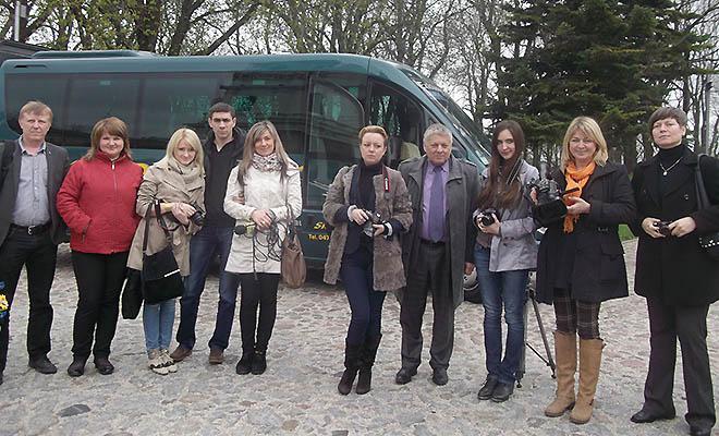 Dziennikarze z Wołynia w Polsce
