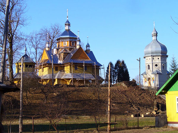 Cerkiew w Witwicy (Fot. Oleg Witwicki)