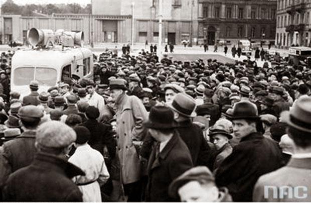 Początek wojny w prasie lwowskiej