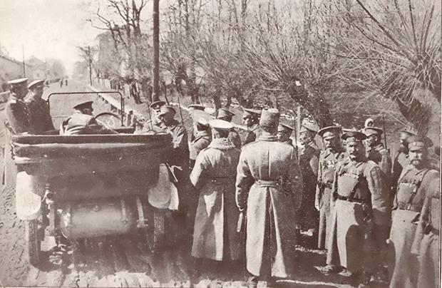 Spojrzenie z dwóch stron frontu, czyli propaganda w 1914 roku
