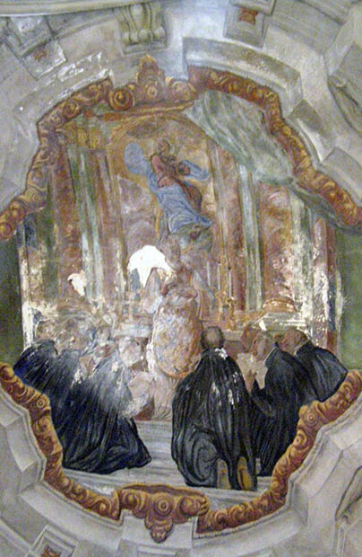 Prace konserwatorskie w kościele jezuitów we Lwowie