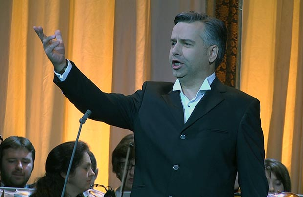 Koncert noworoczny w operze lwowskiej