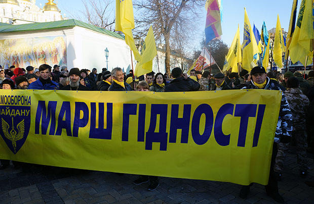 To już rok od początku Majdanu