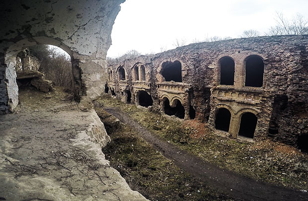 Ruiny fortu i jego lokatorzy