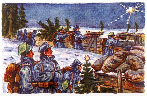 Boże Narodzenie 1914