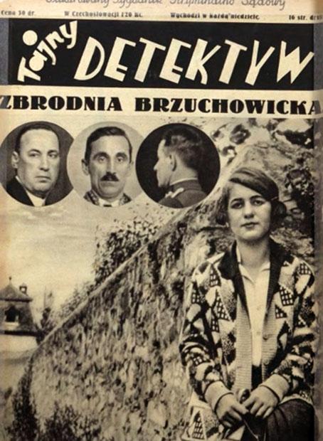 Straszna zbrodnia w Brzuchowicach