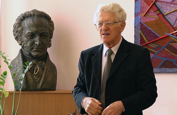 Profesor Andrzej Jasiński doktorem honoris causa we Lwowie