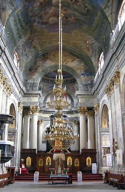 Kościół karmelitów bosych. Część II