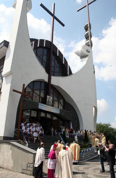 Nowy kościół na Zboiskach we Lwowie