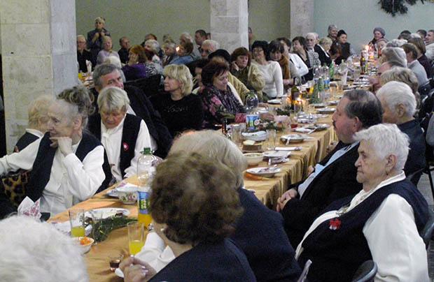 Spotkanie opłatkowe Towarzystwa Kultury Polskiej Ziemi Lwowskiej