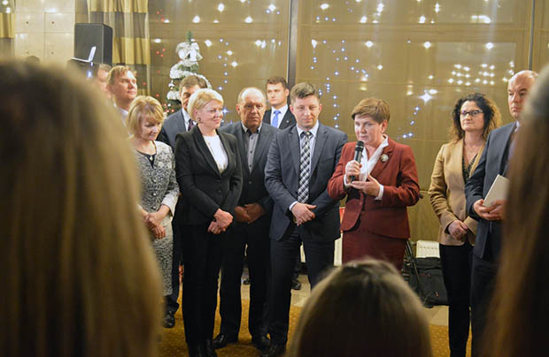 Polacy ze Wschodu na spotkaniu opłatkowym w Sejmie RP