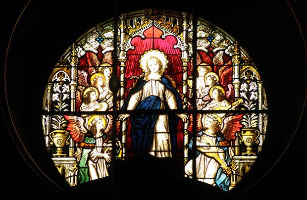 Witraże bazyliki łacińskiej. Część 2