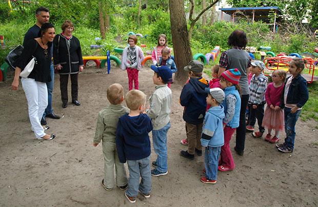 Chwile radości w polskiej grupie przedszkolnej