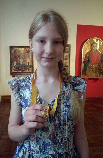 """""""Złote sztalugi"""" dla Kamili Sosnowskiej"""