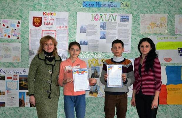 Tydzień języka i kultury polskiej w szkole w Truskawcu