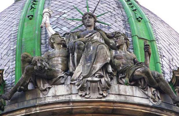 """Lwowska """"Statua Wolności"""" została odrestaurowana"""