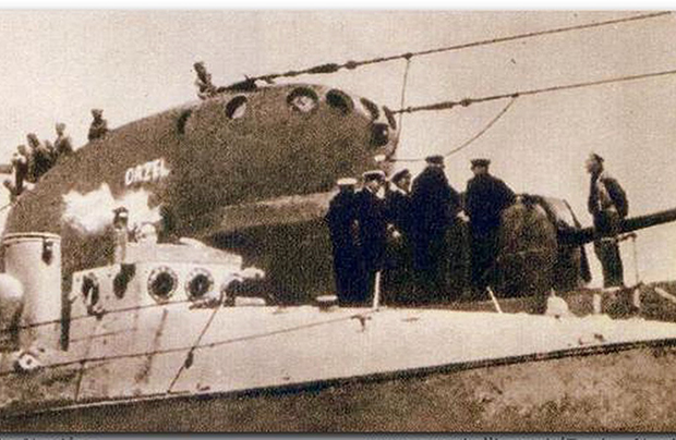 """Czy ORP """"Orzeł"""" zatopił Estonię?"""