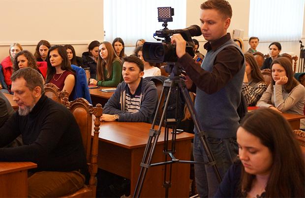 Dialog z młodzieżą Politechniki Lwowskiej o relacjach polsko-ukraińskich