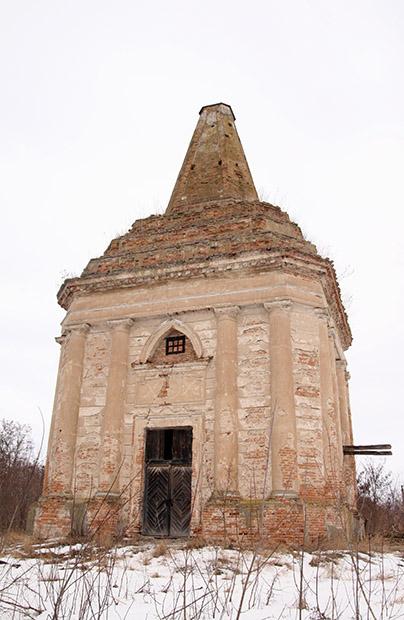 Mauzoleum-zikkurat na Ziemi Kijowskiej
