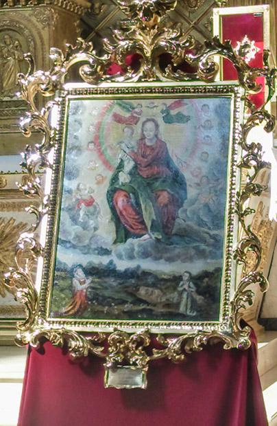Matka Boża Łaskawa ze Lwowa w Paryżu