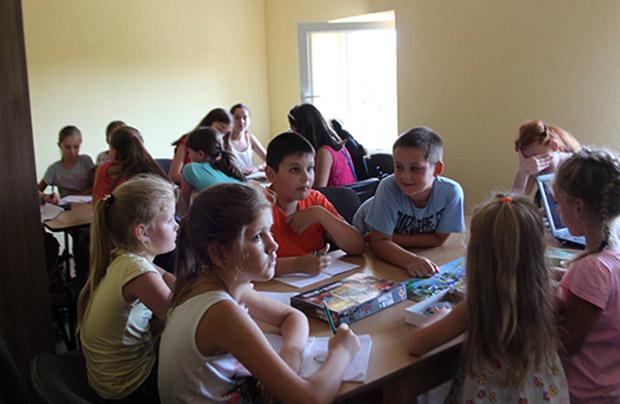 Atrakcje szkoły letniej w Samborze
