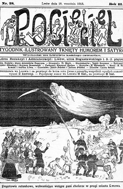 Lwowski humor i satyra sprzed 105 laty