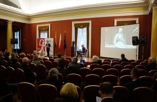 Konferencja w Wilnie poświęcona Piłsudskiemu?