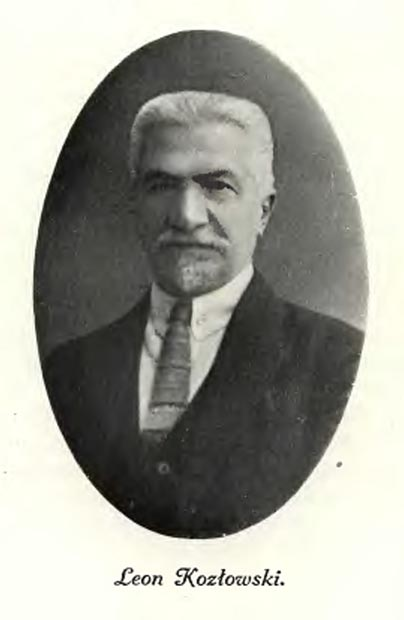Szermierz patriotyzmu narodowego Leon Kozłowski (1877–1927)