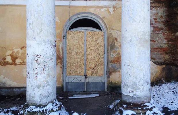 Zadbano o pałac w Rozdole