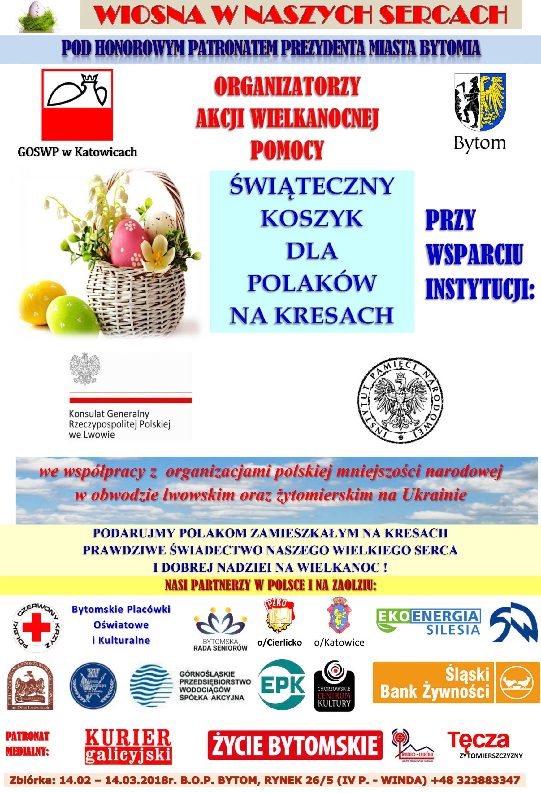 Świąteczny koszyk dla Polaków na Kresach