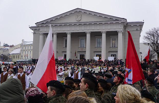 Obchody 100. rocznicy niepodległości Litwy