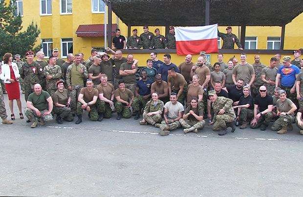 Dzień Polsko-Litewski z okazji rocznicy uchwalenia Konstytucji 3 Maja na jaworowskim poligonie