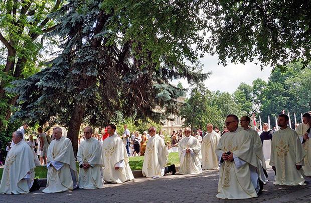 Uroczystość Bożego Ciała i procesja we Lwowie