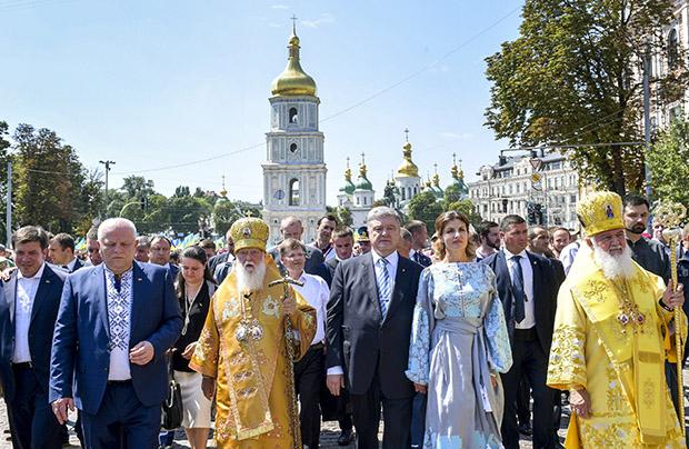 Kijowskie obchody 1030-lecia chrztu Rusi