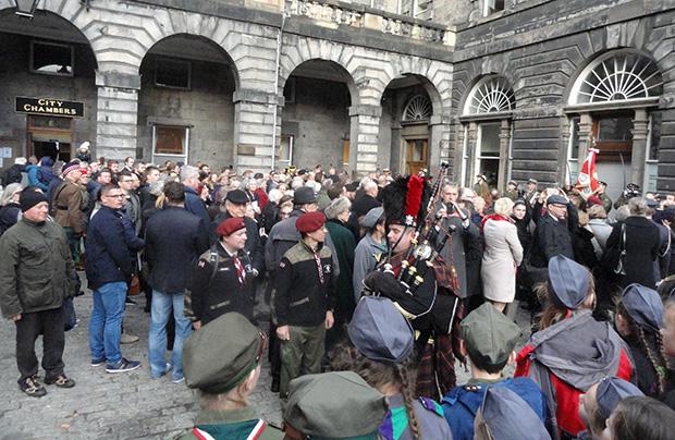 Odsłonięcie pomnika generała Stanisława Maczka