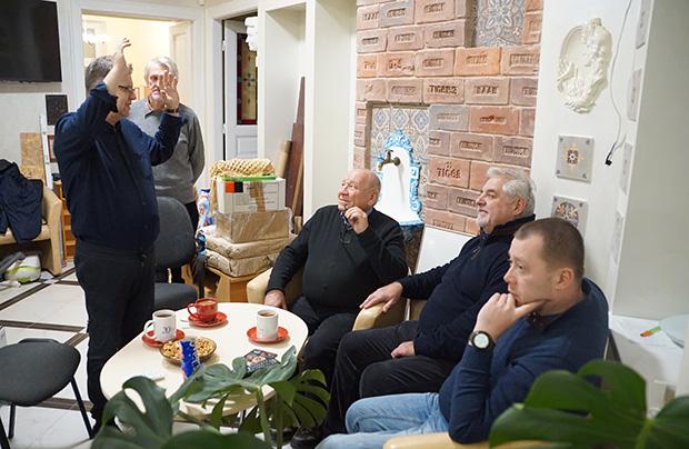 Coroczne wizyty we Lwowie Mikołajów z Poznania