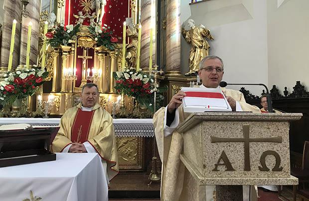Obchody 100-lecia Niepodległej w parafii w Samborze