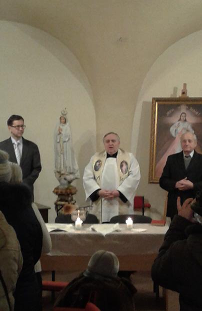Spotkanie opłatkowe słuchaczy Katolickiego Uniwersytetu Trzeciego Wieku we Lwowie