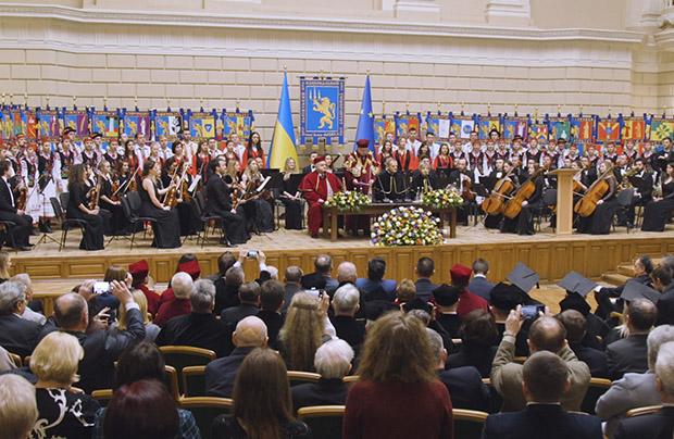 Donald Tusk doktorem honoris causa uniwersytetu lwowskiego