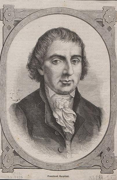 Franciszek Karpiński w Stanisławowie