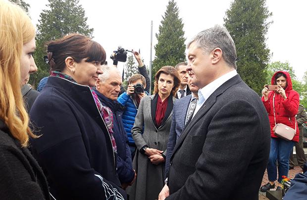 Petro Poroszenko podziękował lwowianom za wsparcie