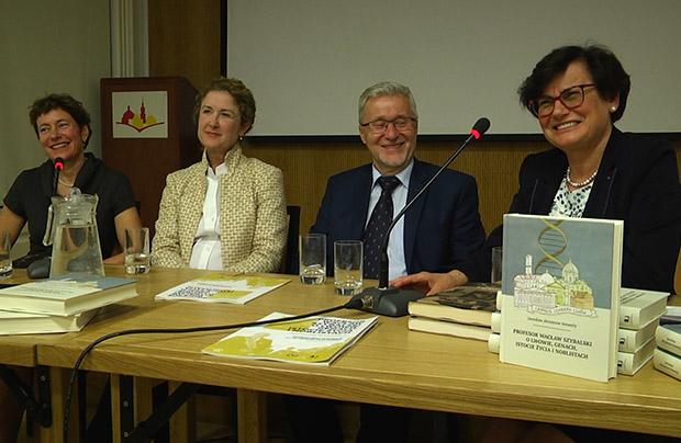 Promocja książki o Wacławie Szybalskim