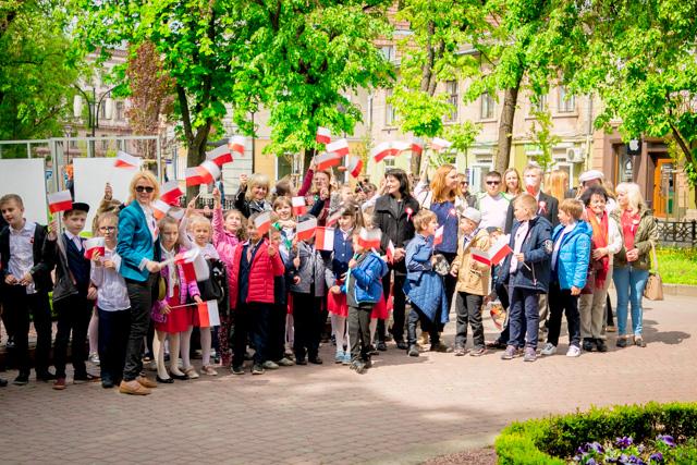 Obchody 228. rocznicy Konstytucji 3 Maja w Stanisławowie