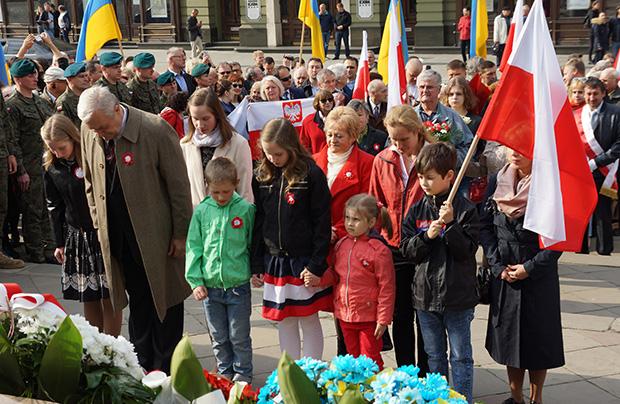 Lwowskie obchody 228. rocznicy Konstytucji 3 Maja