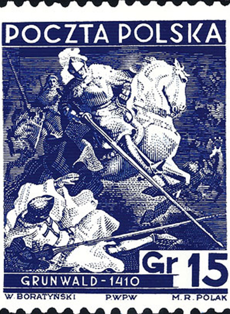 Znaczkowa wojna o Grunwald